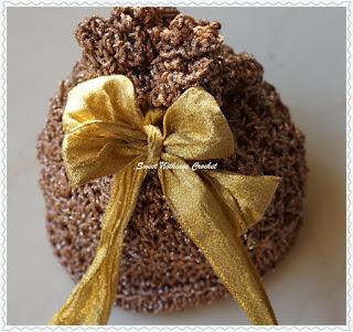 free crochet bag pattern, free crochet potli bag
