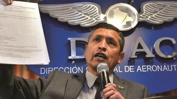 Expiloto de Evo Morales denuncia persecución política en su contra