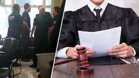 magistrados carta briga advogado juiza direito