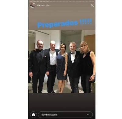 David, el dado detrás de la ficha blanca (David Muñoz, Frank Díaz, Yolanda Ventura, Tino Fernández y Gemma Prat)