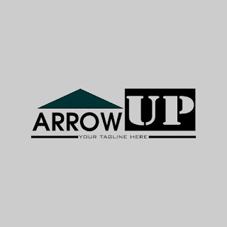 Design Arrow Up Logo Template Free Download Vector CDR, AI, EPS and PNG Formats