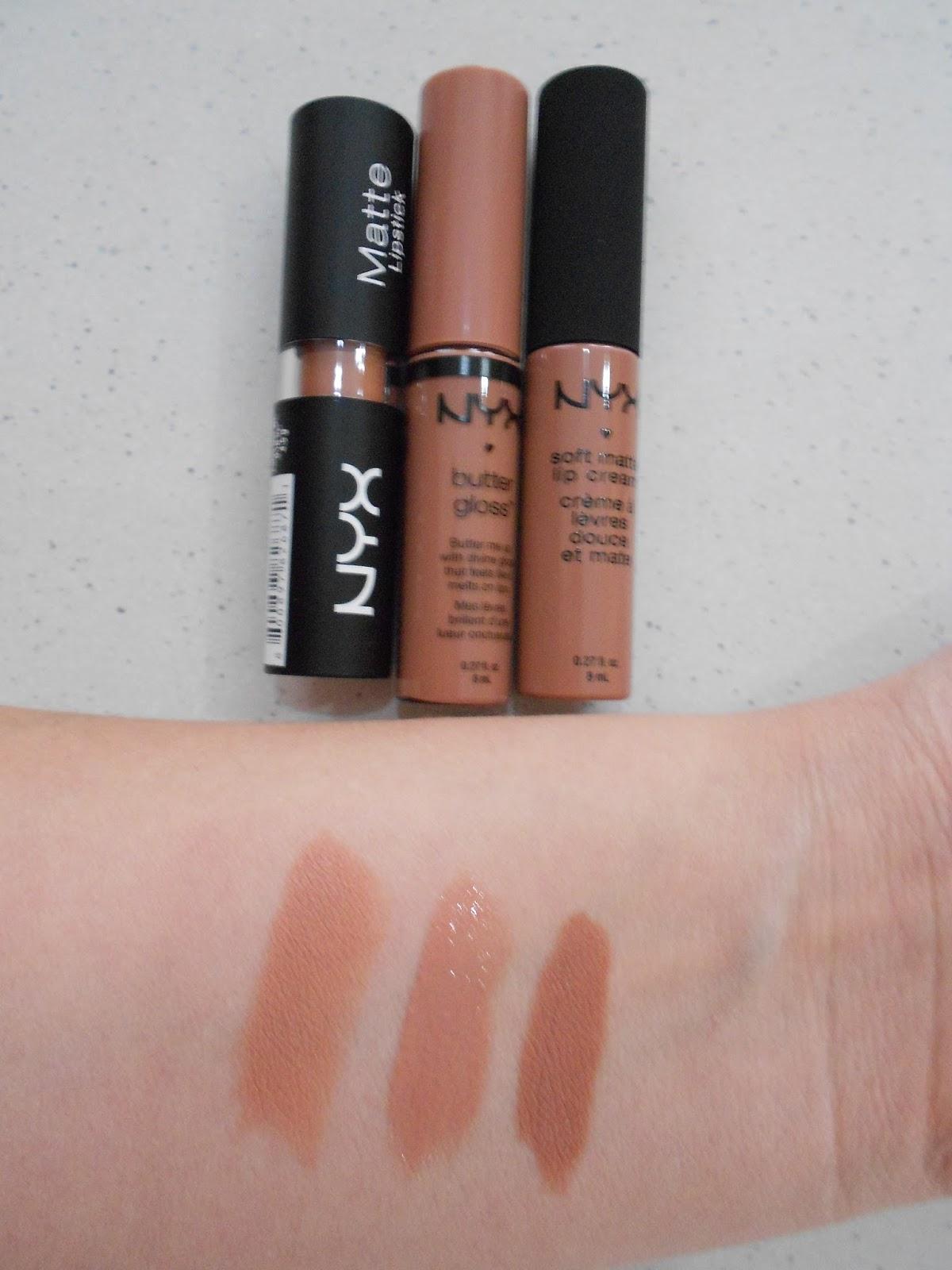 Fann Angel: NYX Lipsticks And Lipglosses