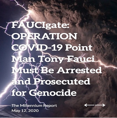 State of the Nation, FAUCIgate: OPERATION COVID-19 Point Man Tony Fauci Must Be Arrested and Prosec