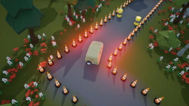 In the case of Little Brother Jim, the creator tried to move away from the usual scheme. The game consists of two interconnected processes — actually travel and a mini-game about parking a jeep.