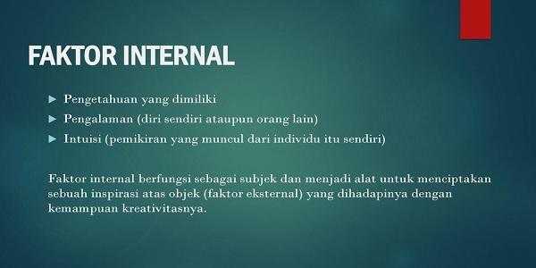 sumber peluang usaha internal