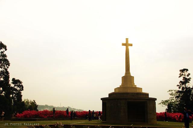 Photo World War Cemetery Kohima Nagaland