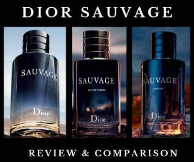 Dior Sauvage EDT vs EDP vs Parfum