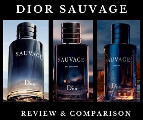 Dior Sauvage EDT vs EDP vs Parfum