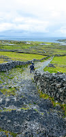 Neolithic Fort, Stone, Sweaters Aran Islands Ireland Vacation 2019