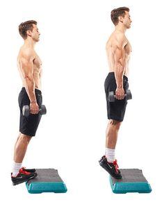 cara membentuk otot kaki dengan gerakan calf raise