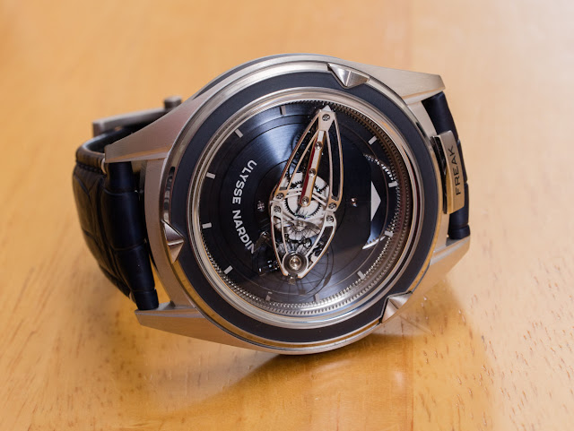 Ulysse Nardin Freak Vision Watch Review