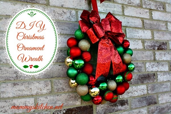 what i love most about this wreath is once displayed you cant even tell that the ornaments are shatterproof they look just like real glass ball ornaments - Christmas Ball Wreath