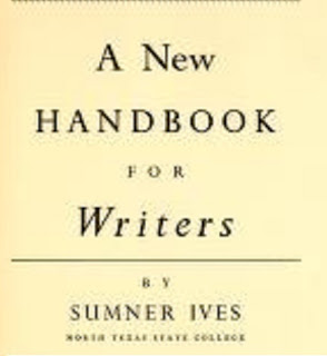 New handbook for writers by Sumner Ives