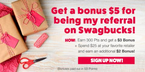 Image: Swagbucks is a rewards site where you earn points (called SB) for all sorts of things you're probably already doing online, like shopping, discovering deals, taking surveys, watching videos, and more!