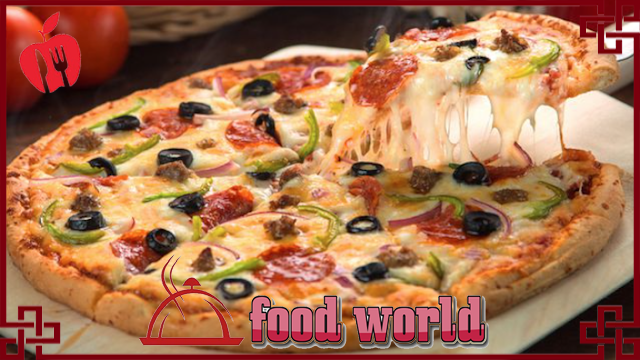healthy and delicious pizza