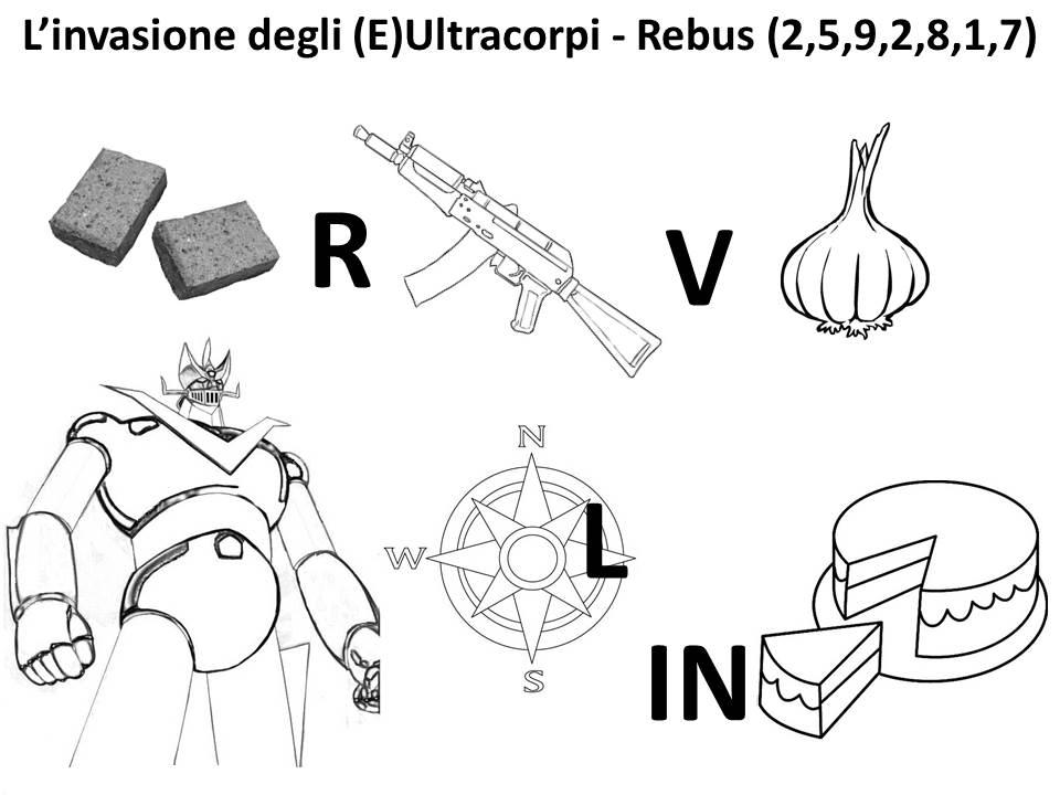 Goofynomics il rebus della coruzzione for Rebus facili da stampare