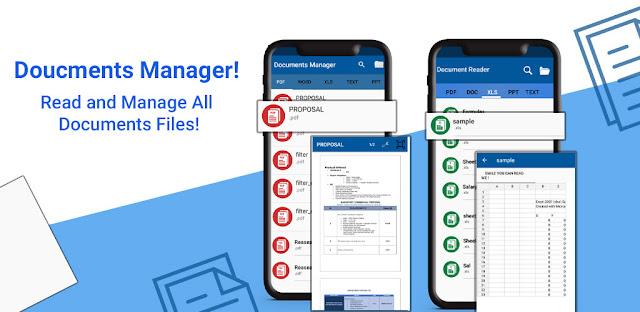 قم بتنزيل All documents reader and document viewe الاصدار الكامل - برنامج إدارة وقراءة مستندات Office