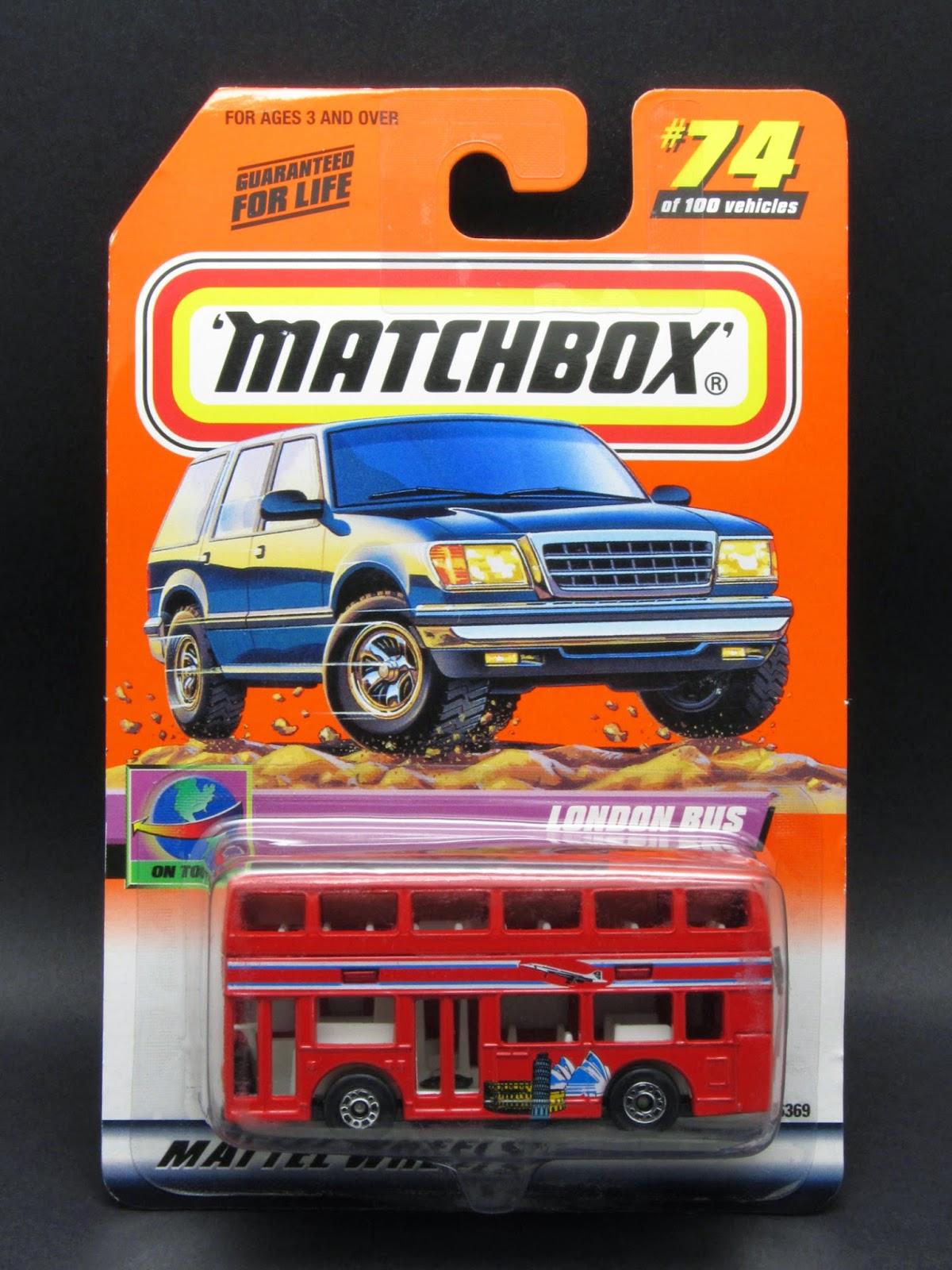 Transport Bus Chevy Matchbox 1998