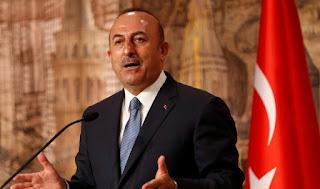 """تركيا تجدد مطلبها بانسحاب النظام السوري إلى حدود اتفاق """"سوتشي"""""""