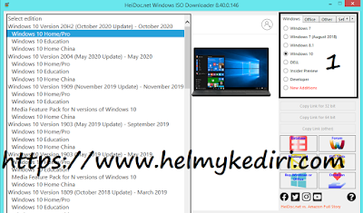 Cara download microsoft windows ISO