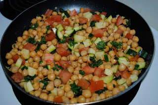 Quick Chickpea Salad