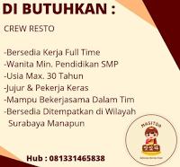 Lowongan Kerja di Restaurant Masitda Surabaya Juni 2021