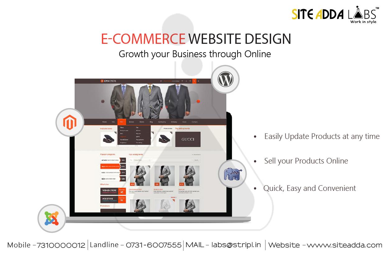 Siteadda Ecommerce Website Design
