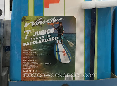 Have some fun and get some exercise with the Wavestorm Taquito Junior Stand-up Paddleboard