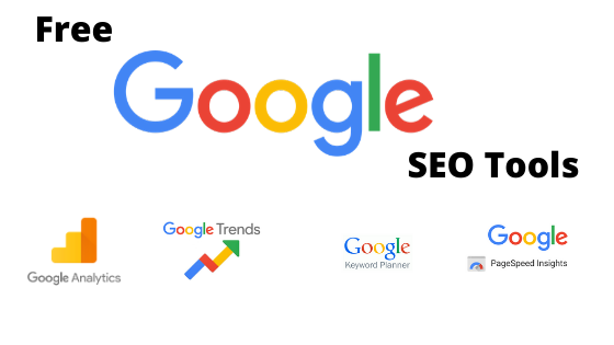 free seo tools by Google