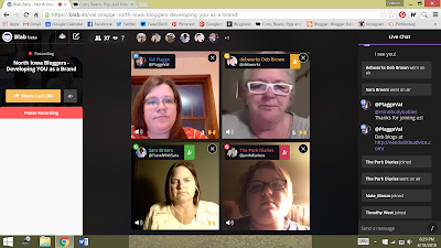 Exploring Blab with the North Iowa Bloggers