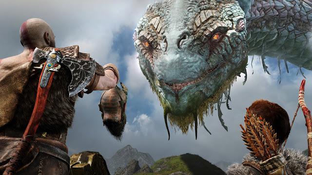 Jörmundgander - God of War PS4