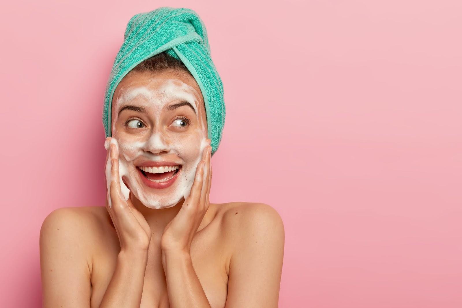 rutina facial limpieza