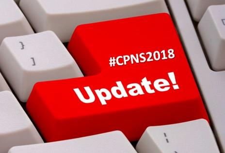 Update Info CPNS 2018
