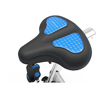 Nautilus MY18 U618 gel-cushioned saddle, image, 4-way adjustable
