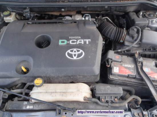 Toyota Avensis review- Engine