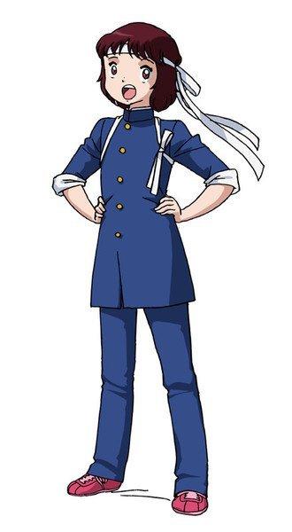 """Sayuri Hara como Sanae """"Anego"""" Nakazawa"""