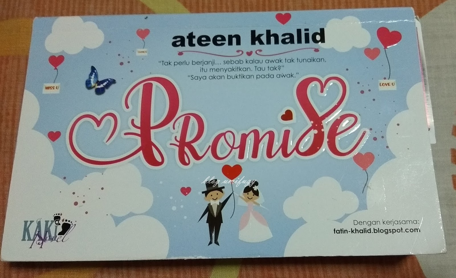 Novel Promise Karya Ateen Khalid
