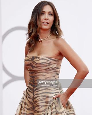 Caterina Balivo foto abbigliamento red Carpet Venezia 3 settembre