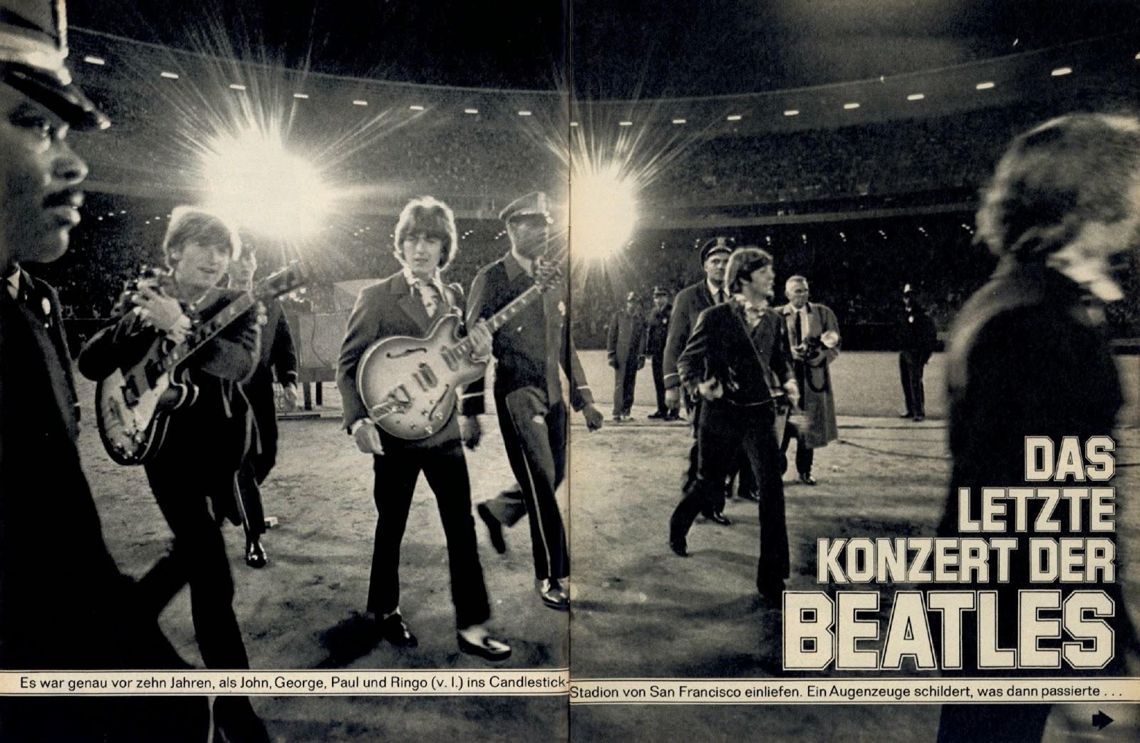 Beatles Letztes Konzert