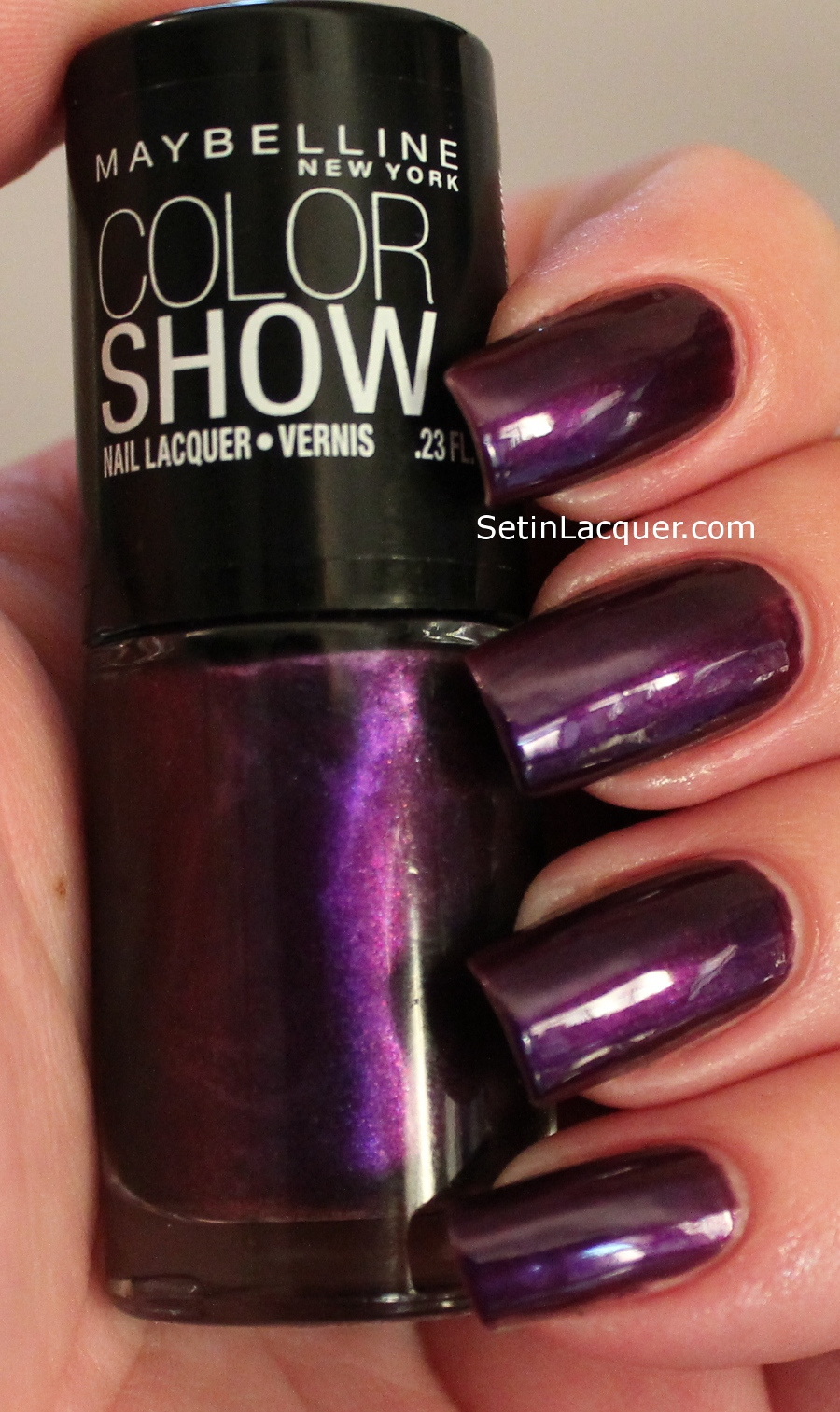 maybelline color show swatches and review set in lacquer. Black Bedroom Furniture Sets. Home Design Ideas