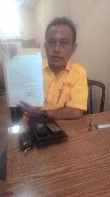 Dukung Ridho – Zainal, Pengurus Golkar Lampura Mengundurkan Diri