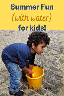Summer fun for kids with water