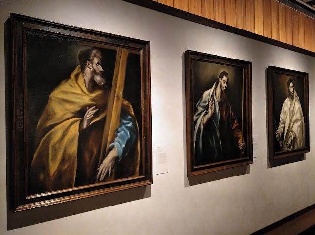 Casa de El Greco - Apóstoles pintados por El Greco