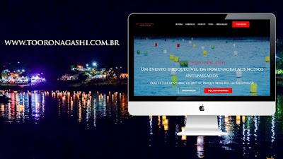 Novo site traz tudo sobre o Tooro Nagashi e possibilita encomendar homenagem