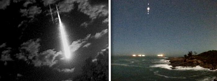 meteoro maranhão - meteor espirito santo - 24 junho 2021