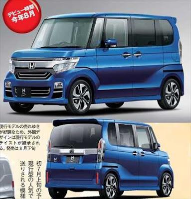 ホンダ新型N-BOX フルモデルチェンジ デザイン