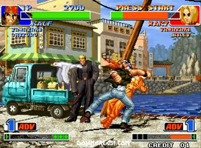 King Of Fighters 1998 (NeoGeo) - Download Game PS1 PSP Roms Isos
