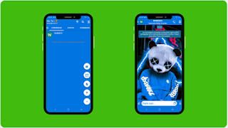 THEME WHATSAPP (GB, YO) - TRASHER BLUE