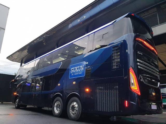 Eksterior Bus Double Decker Laksana