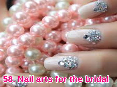 Nail arts for the bridal